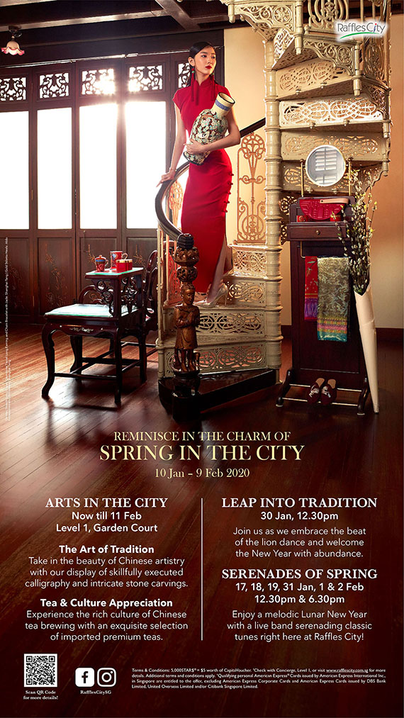 Raffles City Chinese New Year 2020 (In-mall Promotional 2)