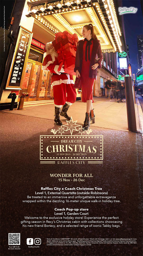 Raffles City Christmas 2019 (In-mall Promotional 1)