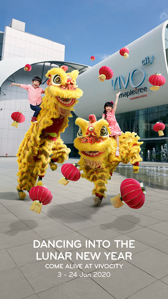 VivoCity Comes Alive (Chinese New Year)